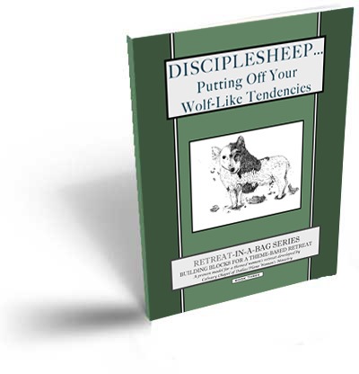 Disciplesheep, a women's retreat skit book from Retreat-in-a-Bag