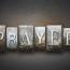 Put Prayer on the Agenda