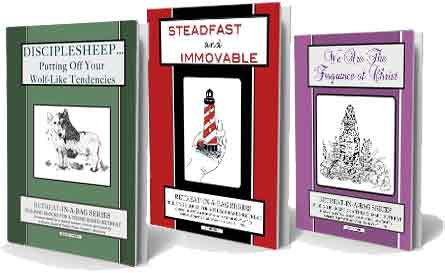 Retreat-in-a-Bag three book series for women's retreats