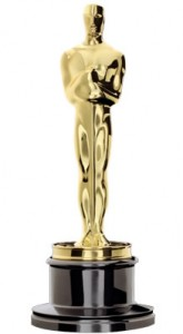 An Oscar award