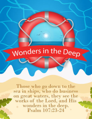 His Wonders in the Deep Retreat Guide
